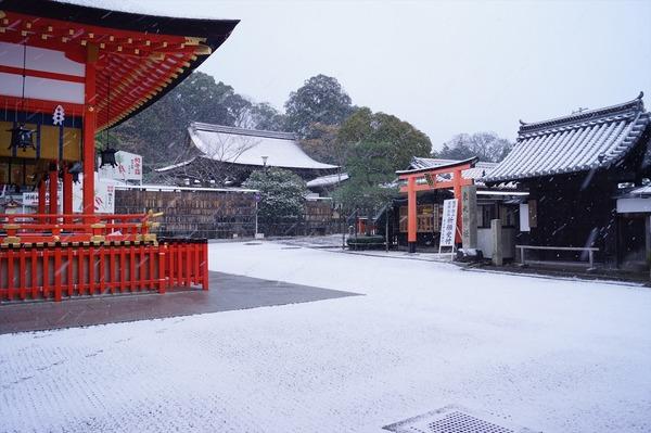 雪の京都004