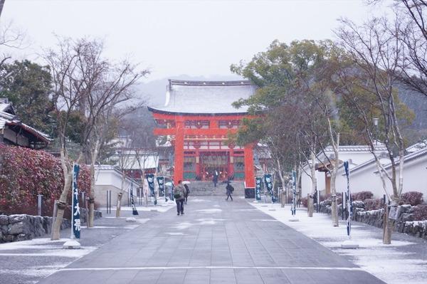 雪の京都002