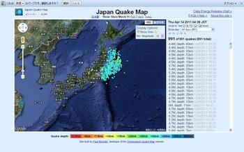 JapanQuakeMap