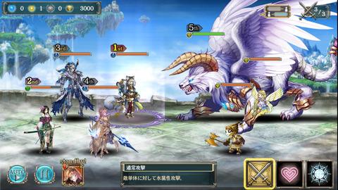光の神獣と蒼麗の勇者幻獣級3
