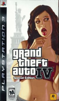 ps3 GTA 4 limited