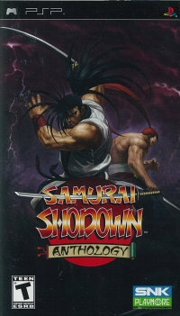 psp samurai shodown anthology
