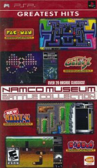 psp namco museum battle collection best
