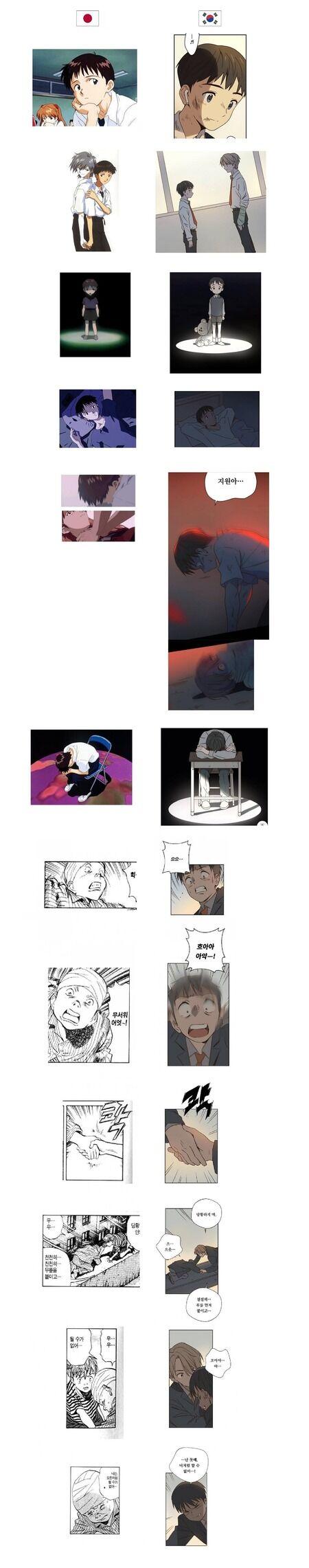 【朗報】エヴァをパクった韓国漫画、無事連載中止になるwwww