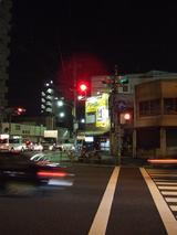 水戸街道越し