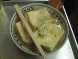 江戸っ子豆腐