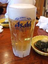ビール一杯目