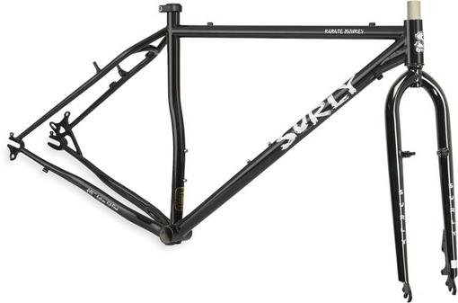 自転車の 自転車 フォーク アルミ クロモリ : ... フレーム&クロモリフォークだ