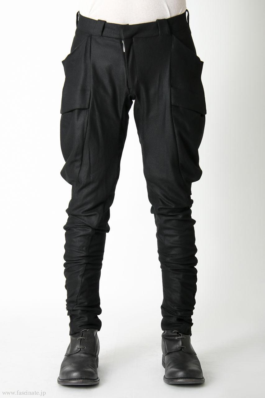 Devoa Big Pocket Pants Wool-1