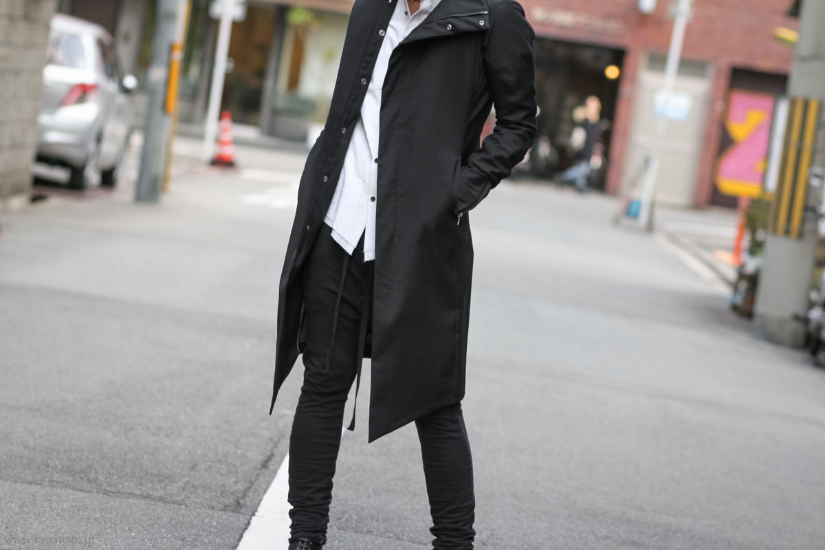 Devoa Wool Coat Styling-8