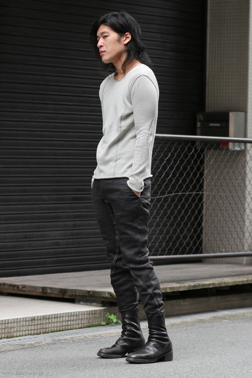 LeU Knit x Devoa Linen Denim-2