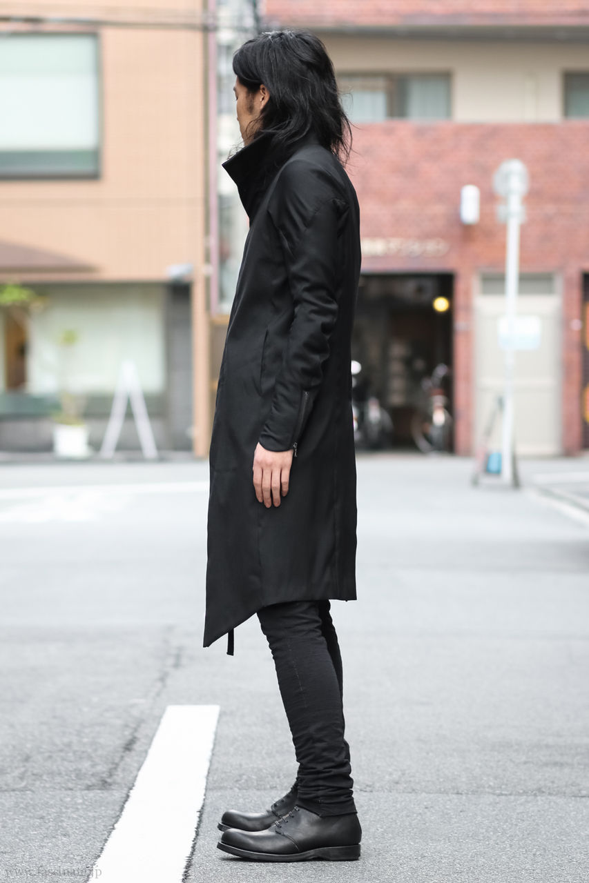 Devoa Wool Coat Styling-5