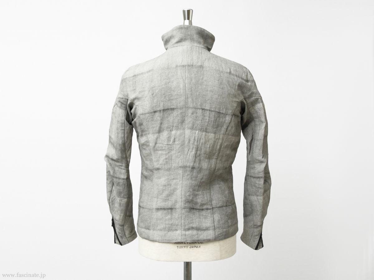 Devoa Washi Random Check Jacket-4
