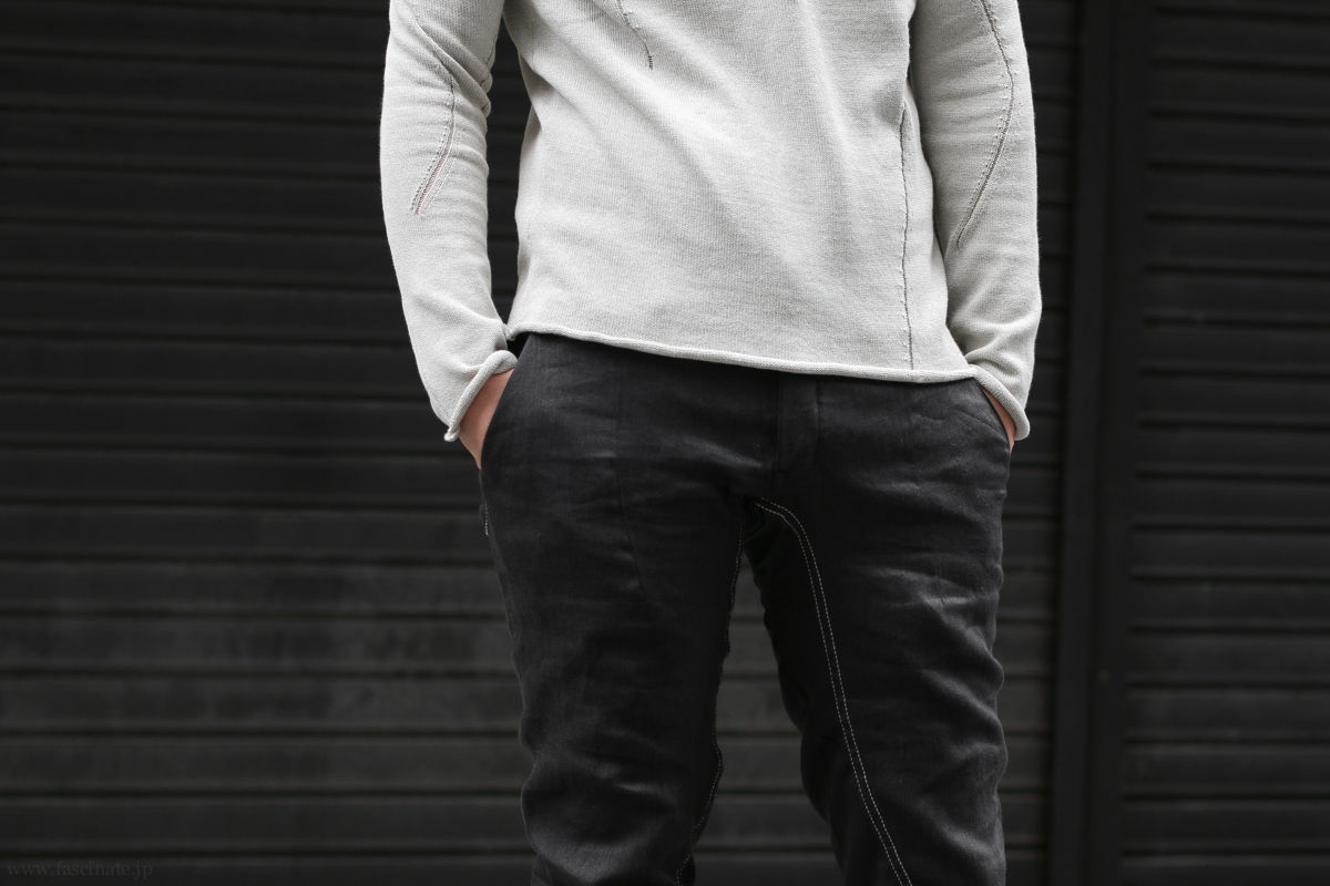 LeU Knit x Devoa Linen Denim-6