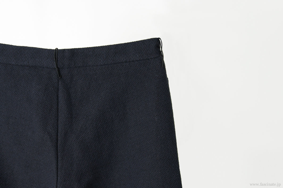 individual sentiments back zip pants navy-9