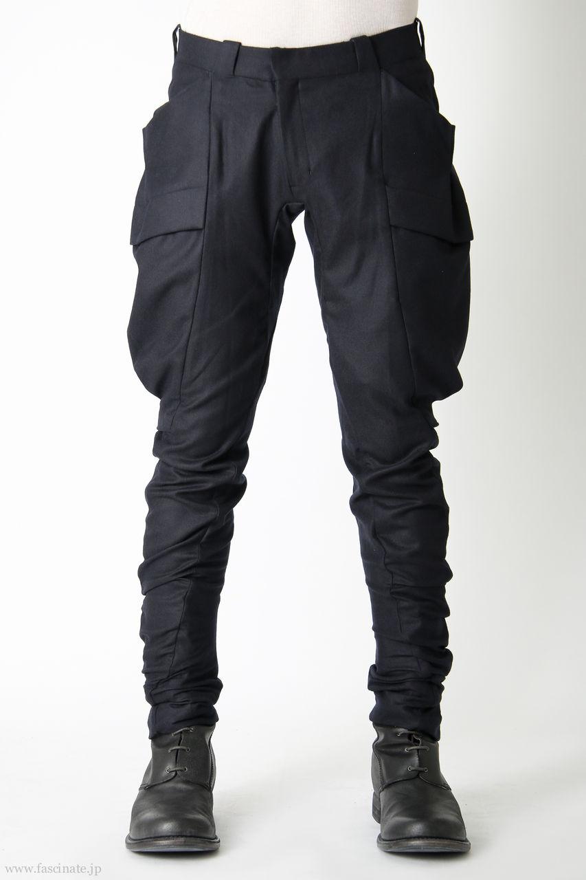 Devoa Big Pocket Pants-dnvy
