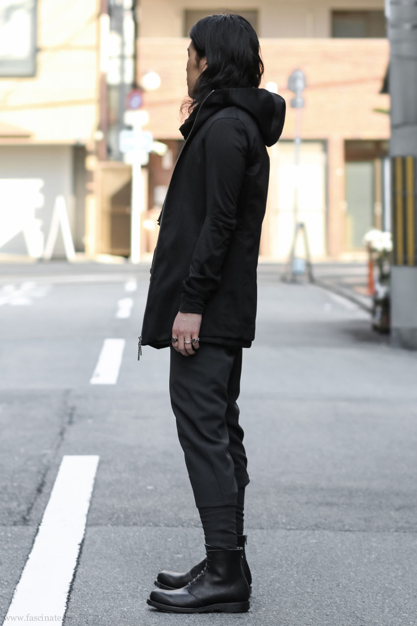 Devoa Long Parka Styling-2