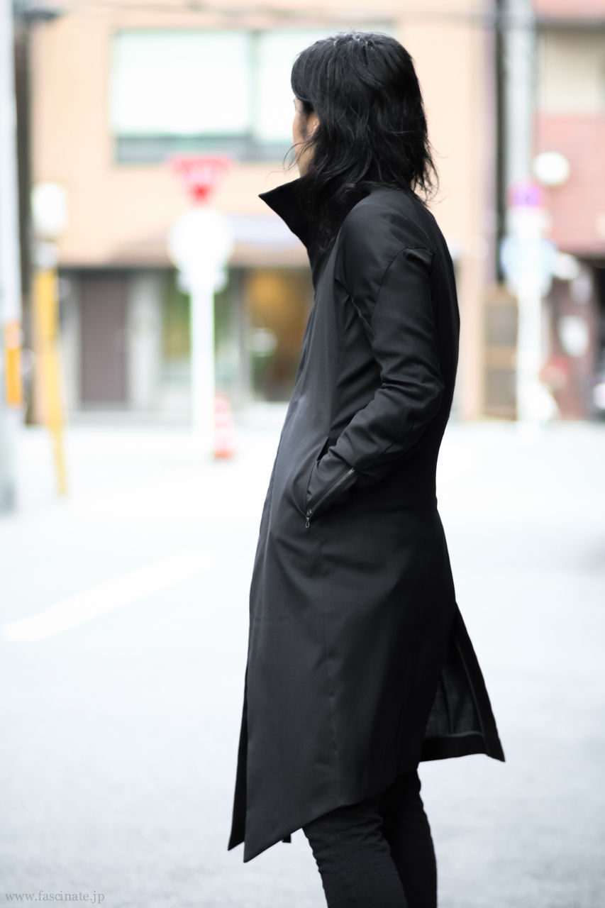 Devoa Wool Coat Styling-12