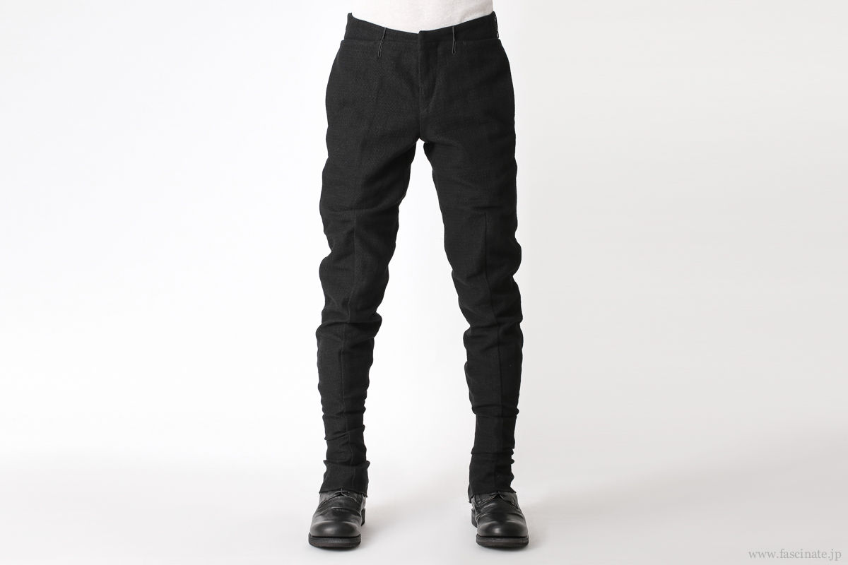 individual sentiments back zip pants navy-1