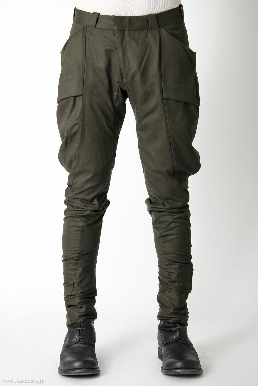 Devoa Big Pocket Pants-kh