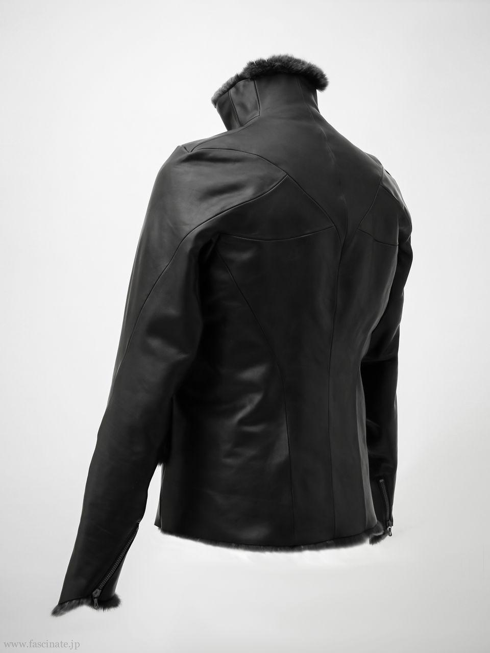 Devoa Rex Leather Jacket-4
