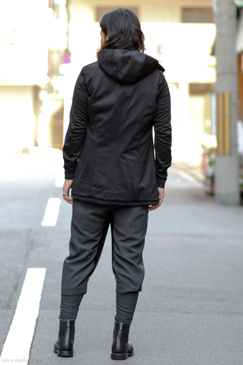 Devoa Long Parka Styling-3