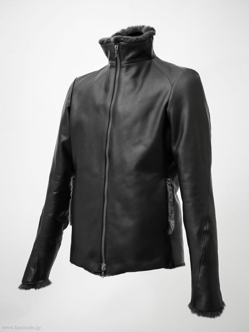Devoa Rex Leather Jacket-2