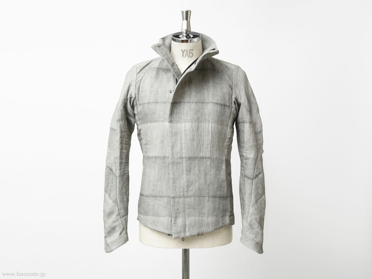 Devoa Washi Random Check Jacket-5