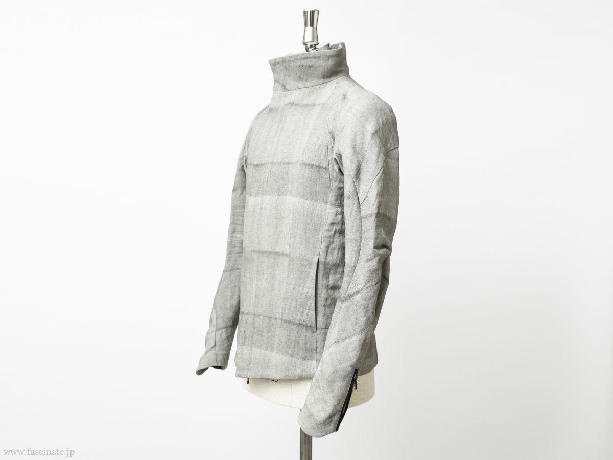 Devoa Washi Random Check Jacket-2