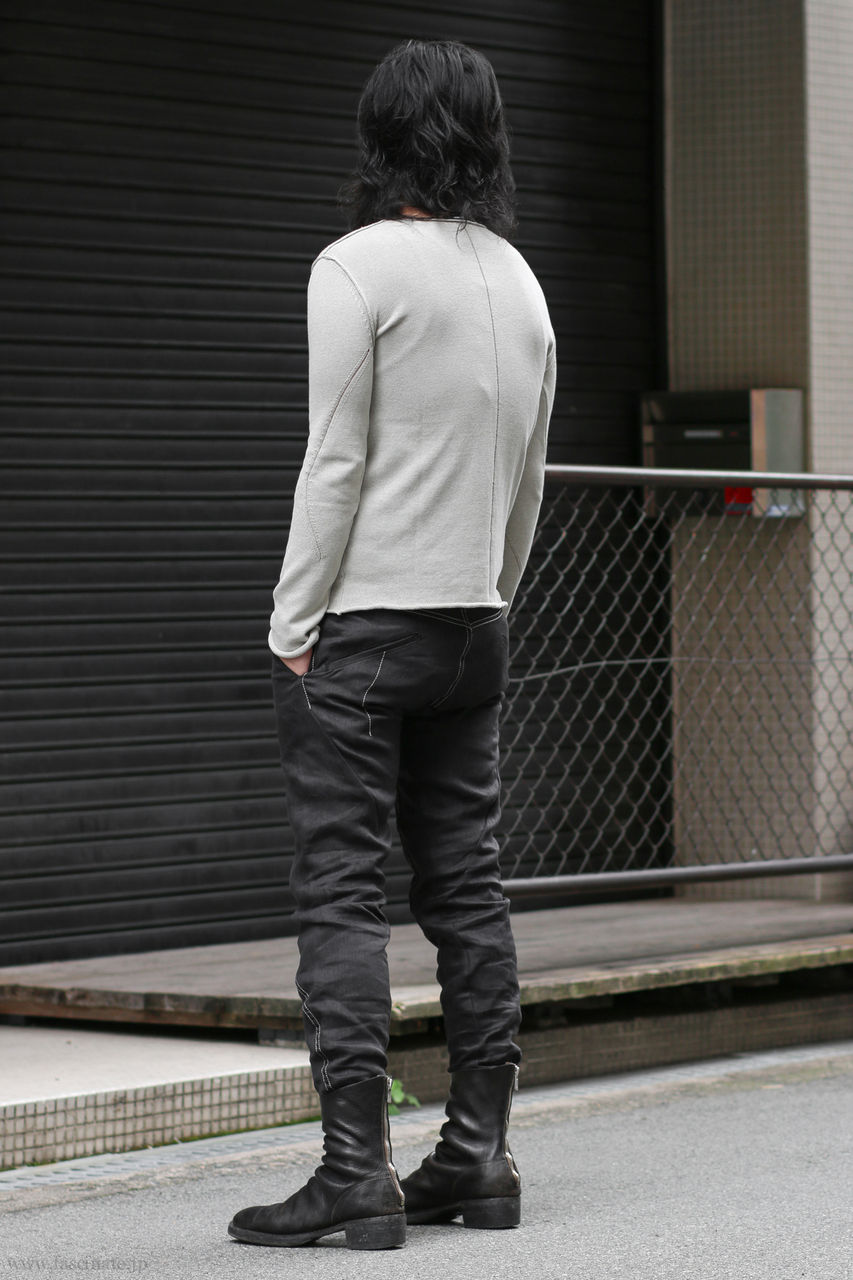 LeU Knit x Devoa Linen Denim-3