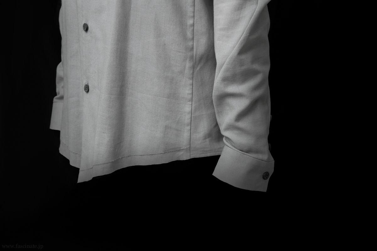 Devoa Charcoal Cotton Dyed Shirt 3