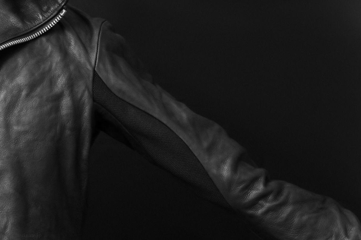 Devoa Cow Leather Hooded Jacket_2