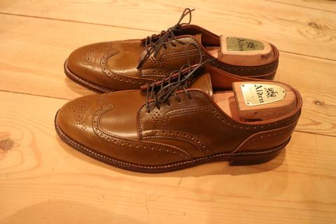 【革靴&デニム】ワイ、オールデンの渋すぎる靴を買ってしまう