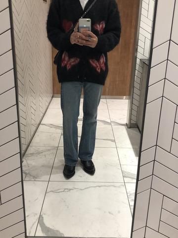 【セーター】ワイくん(175cm)、ハイブランド秋コーデを披露😏