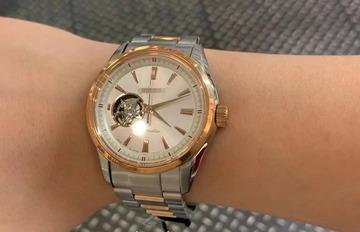 【時計】ワイ26歳、ついに機械式の高級時計買ったったww