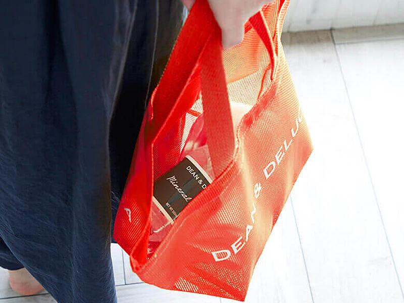 夏限定 Dean Deluca メッシュトートバッグ ブラッドオレンジ S L 発売 ファッションマグ