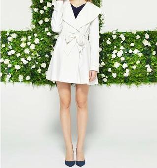 『ダメな私に恋してください』深田恭子さん着用のL'EST ROSE (レストローズ)フード付きコート