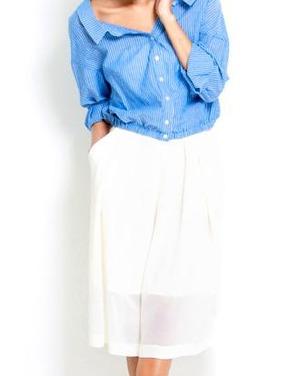 ガウチョパンツ 春 コーデをファッションウォーカーで探してみた!