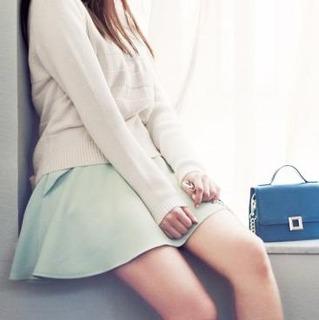 深田恭子さん衣装 がファッションウォーカーで購入できます!!リランドチュールのフリルスカート見えキュロット