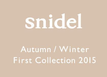 スナイデル snidel オータム/ウインター ファーストコレクション2015