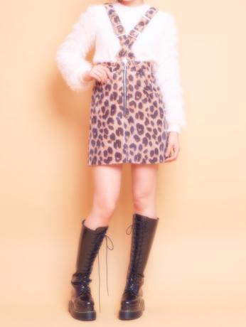 lilLilly (リルリリー) クロスサスペンダースカート1