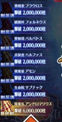 1800万本撃破