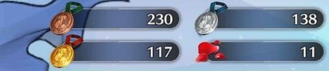 メダル集め