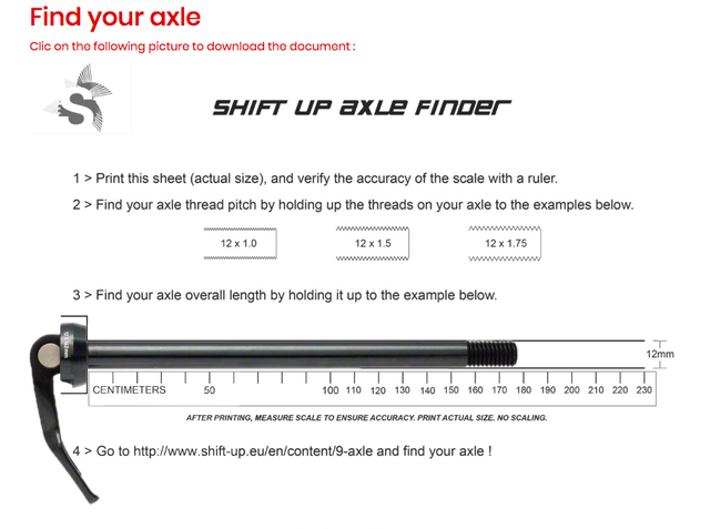 Axle   Shift Up