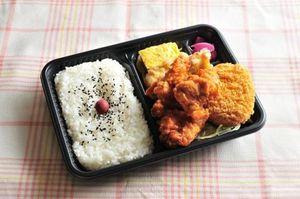 四代ご飯のおかず「唐揚げ」「沢蟹」「コロッケ」