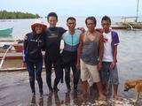 Team fishermen