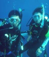 Honeymoon diving