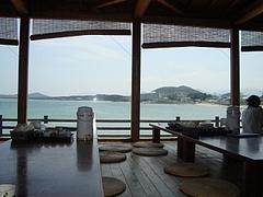 海が見えるレストラン