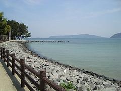 海岸にて2