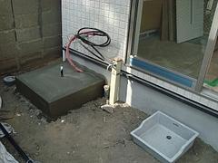 電気温水器設置場所